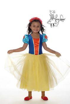 Fairy Kisses - Snow Princess Dress: Sizes M (6-7), L (8-9). $65.99
