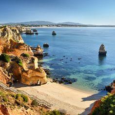 A Praia do Camilo - Lagos, Algarve,-Portugal