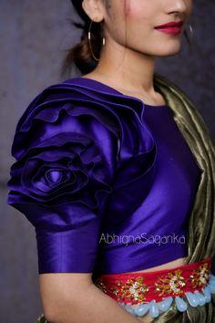 Blouse Designs High Neck, Fancy Blouse Designs, Bridal Blouse Designs, Saree Blouse Designs, Baby Dress Design, Sleeves Designs For Dresses, Stylish Blouse Design, Siri, Sarees