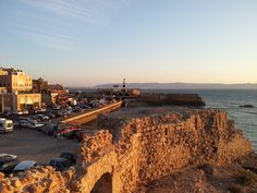 View of the ancient harbour town Acre in Israel. #FriFotos