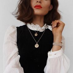 Image about fashion in la mode by le coquelicot Trend Fashion, Moda Fashion, Fashion Beauty, Fashion Looks, Estilo Preppy Chic, Looks Style, Style Me, Mode Outfits, Fashion Outfits