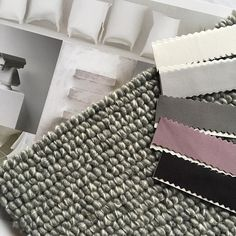 Choosing carpet is like choosing fashion. Style and cut is important. Product featured is Lisburn a unique loop pile made from 100% pure NZ felted wool.