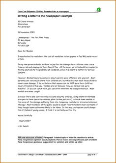 11 how to write a formal letter to editor lease template formal letter template a