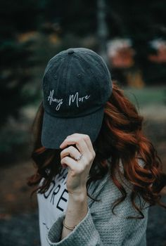 Roloff farms Roloff sisters, Audrey Roloff clothing line ALWAYS MORE comfort color oversized embroidered sweatshirts and vintage dad hats alwaysmore.
