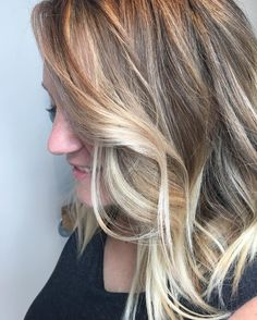 Michelle's beachy blonde is everything! My clients are awesome and let me try to new things with them! Love this girl! #blondehair #tulsahair #tulsastylist #kelsidowneystylist #sterlingsalon  ps. She also just helped my mom find her new house! #tulsarealestate #tulsahomes