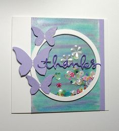 Thanks Sequin Shaker Card | Flickr - Photo Sharing!