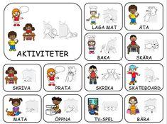 18 stycken teckenkartor by Marihelen - issuu Sign Language Book, Learn Swedish, Swedish Language, Deaf Culture, School Signs, Learn Chinese, Farm Theme, Kindergarten, Preschool