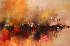 original paintingLarge original abstract by artbyoak1 on Etsy