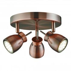 The Jupiter spot light plate from Searchlight is finished in modern copper. This ceiling light has 3 fully adjustable spot heads. The Jupiter 3 spot plate light requires 3 x LED low energy (twist and lock) light bulbs. Kitchen Spotlights, Led Ceiling Spotlights, Kitchen Lighting, Ceiling Lights, Ceiling Color, Room Lights, Luz Led, Copper Ceiling, Kitchen