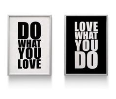 Love What You Do by ConiLab #designinspiration