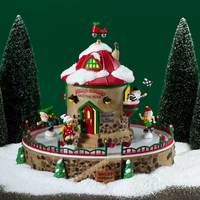 White Christmas Trees, Christmas Village Houses, Christmas Village Display, Candy Christmas Decorations, Christmas Mantels, Christmas Villages, Vintage Christmas Ornaments, Beautiful Christmas, Silver Christmas