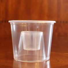 Polar Ice 50 Count Disposable Plastic Power Bomber Shot Cups or Jager Bomb Glasses