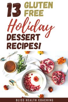 Are you ready for a Gluten-free holiday? I've got the easiest gluten free desserts for your next holiday family gathering. Easy to make and delicious recipes. Easy Holiday Desserts, Easy Gluten Free Desserts, Easy Healthy Recipes, Delicious Recipes, Whole Food Recipes, Dessert Recipes, Tasty, Healthy Pumpkin Pies, Vegan Pumpkin Pie