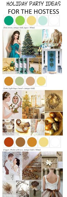 Fun and festive holiday party ideas perfect if you're playing hostess this year! http://www.theperfectpalette.com/2012/11/holiday-party-palettes-festive-ideas.html