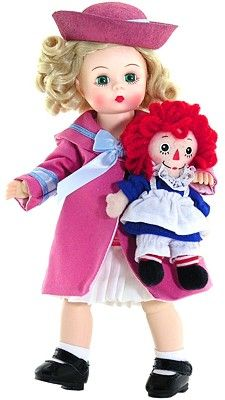 Marcella Loves Raggedy Ann from Madame Alexander