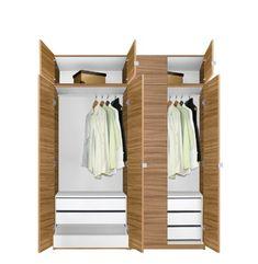 Alta Wardrobe Closet Package   6 Draw... $1,299.00 #bestseller. Freestanding  ClosetWardrobe DesignWardrobe ...