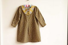 autumn oliver + s playdate dress by tanpopo bloom