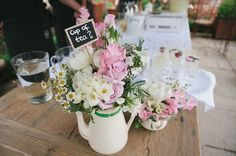 English Tea Party Wedding - cute decor!