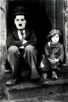 "Charlie Chaplin dans ""TheKid"""