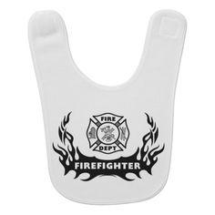 Firefighter Tattoo Bibs