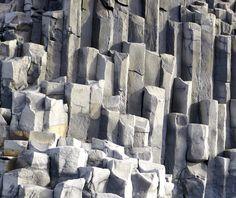 Basalt Columns at Reynisdrangar, Iceland