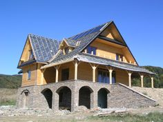 Novadomi.com | Location: Poland. #mountain #cabin #woodenhouse #novadomi