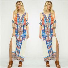 Resort Wear  Abigail Maxi Dress