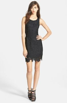 ASTR Textured Floral Body-Con Dress available at #Nordstrom