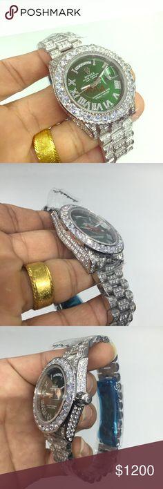Rolex Rolex w/ Lab Diamonds....Sweep Movement Rolex Accessories Watches
