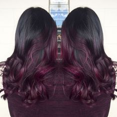 Cherry Bombré Is The Fall Hair Color Every Brunette Will Want to Try - SELF