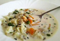 Tárkonyos zöldségleves Kathy konyhájából