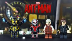 LEGO Ant-Man Minifigures | by MGF Customs/Reviews