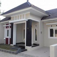 Ideas Home Plans Modern Exterior Colors Bungalow Decor, Bungalow House Design, Small House Design, Modern House Design, Exterior Paint Colors For House, Paint Colors For Home, Exterior Colors, Paint Colours, Minimalist House Design