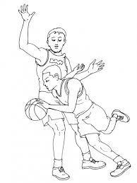 """Résultat de recherche d'images pour """"coloriage basketball"""""""