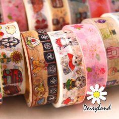 $1.5 - Mutil Styles Cute Washi Tape Paper Sticker Diy Scrapbooking Planner Decoration #ebay #Home & Garden