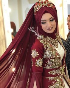 Muslim Wedding Gown, Hijabi Wedding, Muslimah Wedding Dress, Hijab Wedding Dresses, Muslim Dress, White Wedding Dresses, Bridal Dresses, Muslim Brides, Muslim Girls