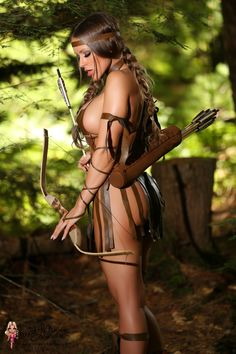 Suggest female archer warriors pussy really. join