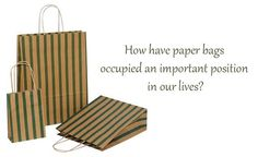 How Have Paper Bags Occupied an Important Position in Our Lives, Papyrus is a thick material, which is similar to paper and derived from natural fibres, https://www.kiwibox.com/johntaylor/blog/entry/141090423/how-have-paper-bags-occupied-an-important-position-in-our/