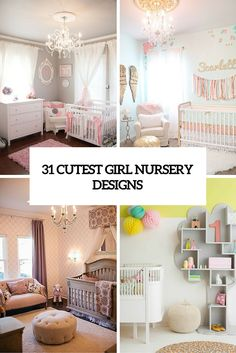 31 Cutest And Most Chic Girl Nursery Designs To Get Inspired