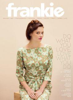 Frankie. Design, art, photography, fashion, travel, music, craft, home, life. #magazine