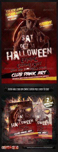 HALLOWEEN EVINING PSD TEMPLETE, All Saints' Day, Friday 13th, black, blood, brujas, carnival, chainsaw, costume, dj flyer, fest, festival, fire, friday the 13th, girls night, grovy, halloween, haunted, horror, house, house music, knife party, mystic, october, psd, pumkin, scary, sexy, template, zombie