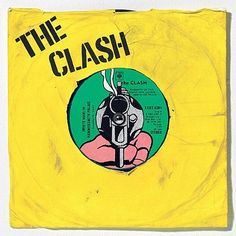 Clash on vinyl (this is a cool album cover!)