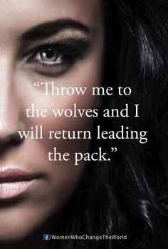 Throw me to the wolves and I will return leading the pack⚡️