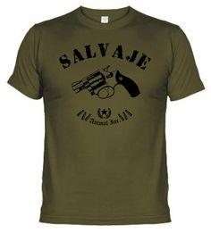 Fabrica de Camisetas Willy Bronka: dTralla Salvaje Gunpowder