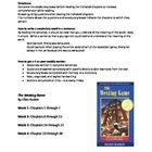 This packet for the book  The Westing Game  by Ellen Raskin includes weekly reading assignments, vocabulary, and higher order thinking questions th...