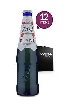 Kit com 12 Cervejas Kronenbourg 1664 Blanc 330ml << R$ 9568 >>
