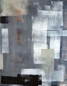 Blog.polifarbe.hu Napi dekor: absztrakt alkotás festőhengerrel