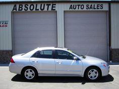 2007 Honda Accord EX-L $7,995  107,300 bad driver seat edge? Absolute Auto Sales 1916 W. 3350 S. Roy