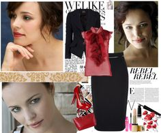 """""""Rachel McAdams"""" by firewitch23 ❤ liked on Polyvore"""