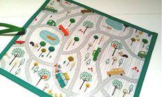 Made to order Road Trip Chalk Mat // Chalk Roll // by SewSofia